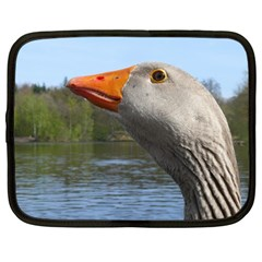 Geese Netbook Case (large)