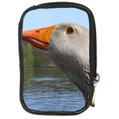 Geese Compact Camera Leather Case