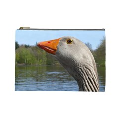Geese Cosmetic Bag (Large)