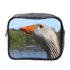 Geese Mini Travel Toiletry Bag (Two Sides)
