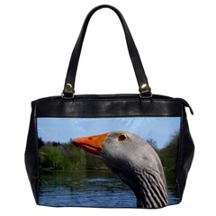 Geese Oversize Office Handbag (One Side)