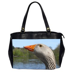 Geese Oversize Office Handbag (Two Sides)