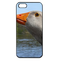 Geese Apple iPhone 5 Seamless Case (Black)