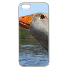 Geese Apple Seamless iPhone 5 Case (Clear)