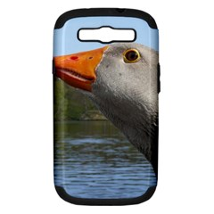 Geese Samsung Galaxy S III Hardshell Case (PC+Silicone)