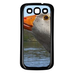 Geese Samsung Galaxy S3 Back Case (Black)
