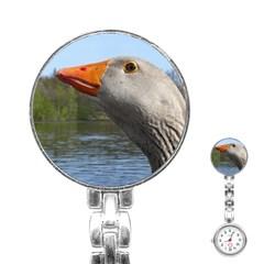 Geese Stainless Steel Nurses Watch