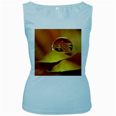 Drops Womens  Tank Top (Baby Blue)