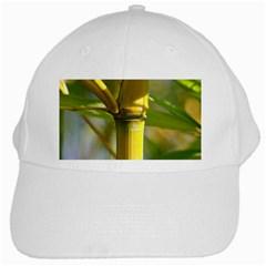 Bamboo White Baseball Cap