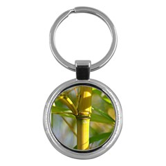 Bamboo Key Chain (Round)