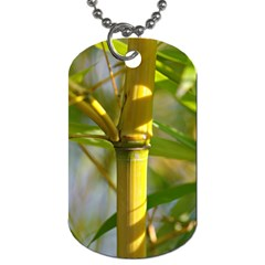 Bamboo Dog Tag (One Sided)