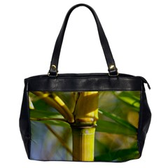 Bamboo Oversize Office Handbag (One Side)