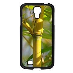 Bamboo Samsung Galaxy S4 I9500/ I9505 Case (Black)
