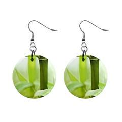 Bamboo Mini Button Earrings