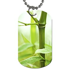 Bamboo Dog Tag (two Sided)