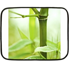 Bamboo Mini Fleece Blanket (Two Sided)