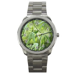 Bamboo Sport Metal Watch