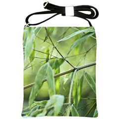 Bamboo Shoulder Sling Bag