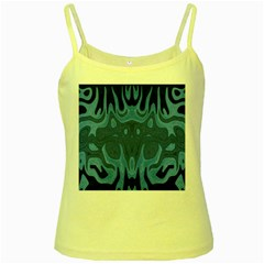 Design Yellow Spaghetti Tank
