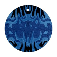 Design Round Ornament (Two Sides)