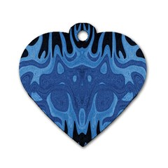 Design Dog Tag Heart (Two Sided)