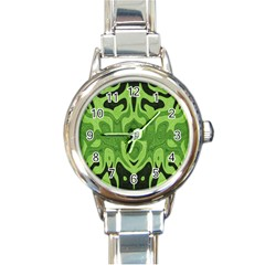 Design Round Italian Charm Watch