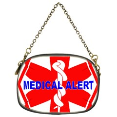Medical Alert Health Identification Sign Chain Purse (one Side)