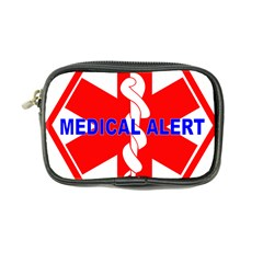 Medical Alert Health Identification Sign Coin Purse