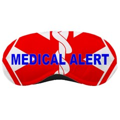 MEDICAL ALERT HEALTH IDENTIFICATION SIGN Sleeping Mask