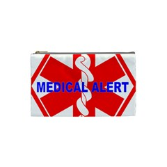 Medical Alert Health Identification Sign Cosmetic Bag (small)