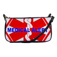 Medical Alert Health Identification Sign Evening Bag