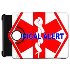 MEDICAL ALERT HEALTH IDENTIFICATION SIGN Kindle Fire HD 7  Flip 360 Case