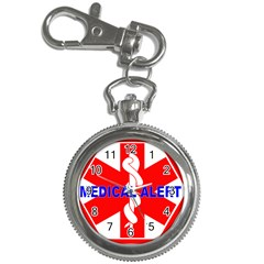 MEDICAL ALERT HEALTH IDENTIFICATION SIGN Key Chain & Watch