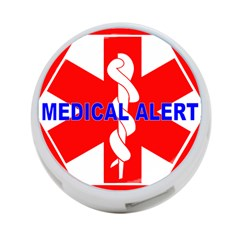 MEDICAL ALERT HEALTH IDENTIFICATION SIGN 4-Port USB Hub (Two Sides)