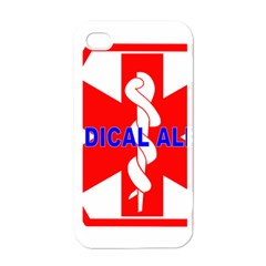 MEDICAL ALERT HEALTH IDENTIFICATION SIGN Apple iPhone 4 Case (White)