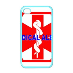 Medical Alert Health Identification Sign Apple Iphone 4 Case (color)