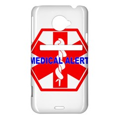 MEDICAL ALERT HEALTH IDENTIFICATION SIGN HTC Evo 4G LTE Hardshell Case