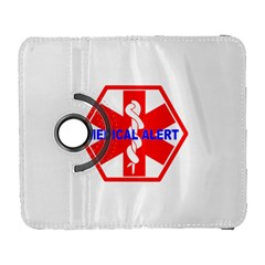 MEDICAL ALERT HEALTH IDENTIFICATION SIGN Samsung Galaxy S  III Flip 360 Case