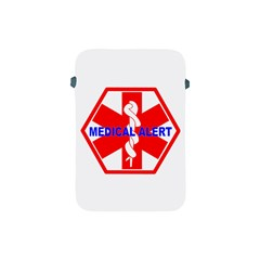 MEDICAL ALERT HEALTH IDENTIFICATION SIGN Apple iPad Mini Protective Soft Case