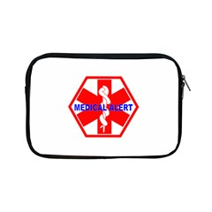 MEDICAL ALERT HEALTH IDENTIFICATION SIGN Apple iPad Mini Zipper Case
