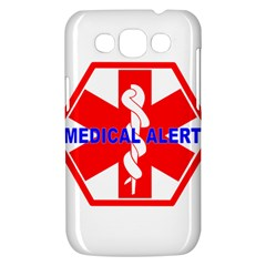 MEDICAL ALERT HEALTH IDENTIFICATION SIGN Samsung Galaxy Win I8550 Hardshell Case