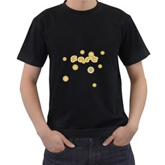 BUBBLE FART Mens' Two Sided T-shirt (Black)