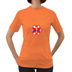 Medical Alert Health Identification Sign Womens' T Shirt (colored)