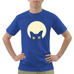 CAT FELINE HEAD Mens' T-shirt (Colored)
