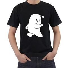 Monster Mens' Two Sided T-shirt (Black)