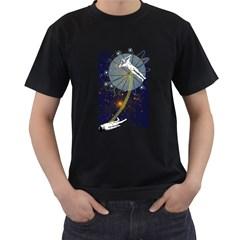 O.B.E. Mens' T-shirt (Black)