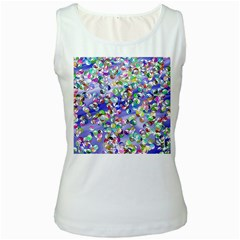 Ying Yang Womens  Tank Top (white)