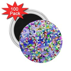 Ying Yang 2.25  Button Magnet (100 pack)