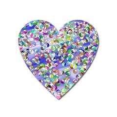 Ying Yang Magnet (Heart)