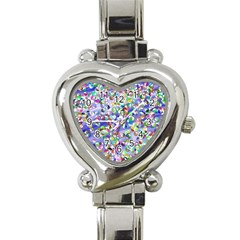 Ying Yang Heart Italian Charm Watch